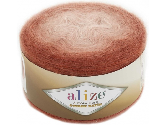 Alize Angora Gold Ombre Batik, 20% Wool, 80% Acrylic 4 Skein Value Pack, 600g фото 18
