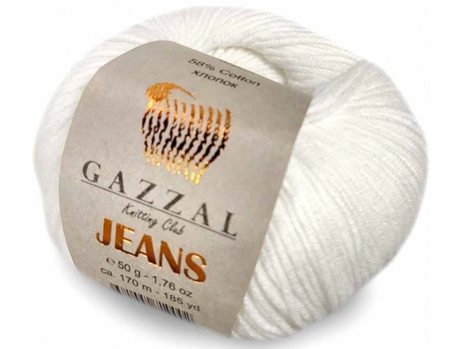 Gazzal Jeans, 58% Cotton, 42% Acrylic 10 Skein Value Pack, 500g фото 20