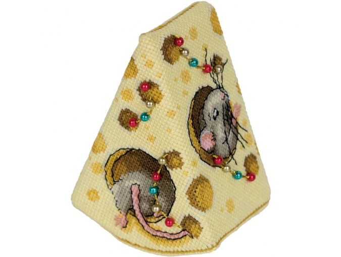 Cheese for the Mice Cross Stitch Kit фото 3