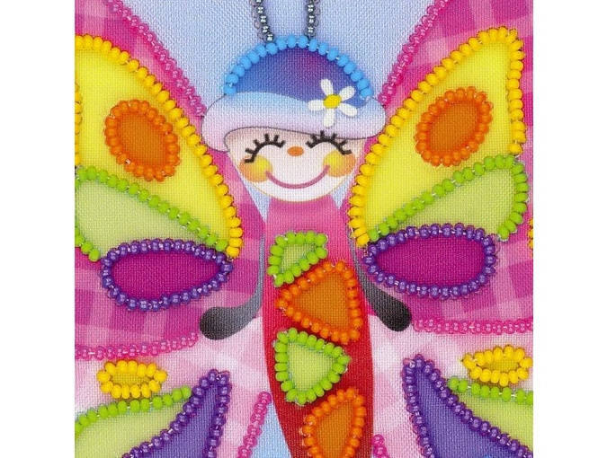 Fairy Butterfly Bead Embroidery Kit фото 3