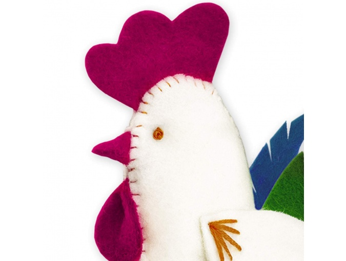Rooster Figure Embroidery Kit фото 2