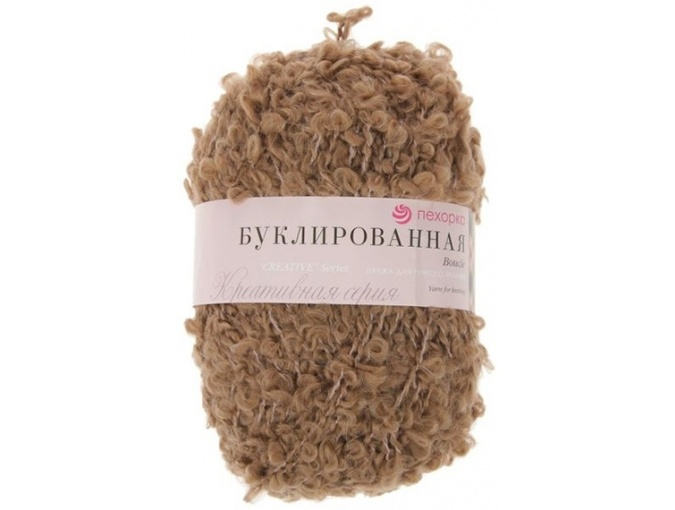 Pekhorka Boucle, 30% Mohair, 20% Wool, 50% Acrylic, 5 Skein Value Pack, 1000g фото 22