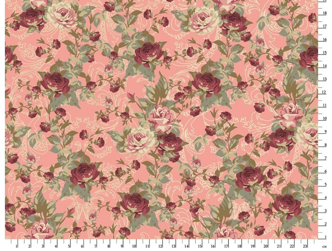 Fat Quarter Peppy, print VR-16 Pink фото 1