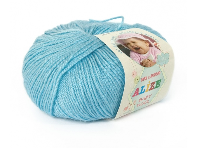Alize Baby Wool, 40% wool, 20% bamboo, 40% acrylic 10 Skein Value Pack, 500g фото 18