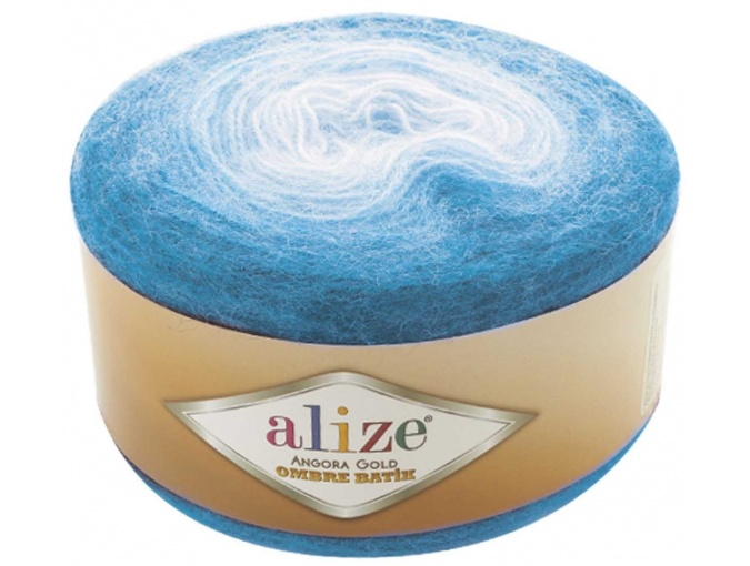 Alize Angora Gold Ombre Batik, 20% Wool, 80% Acrylic 4 Skein Value Pack, 600g фото 5