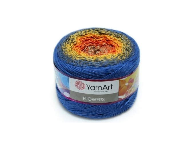 YarnArt Flowers, 55% Cotton, 45% Acrylic, 2 Skein Value Pack, 500g фото 19