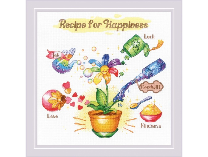 Recipe for Happiness Cross Stitch Kit фото 1