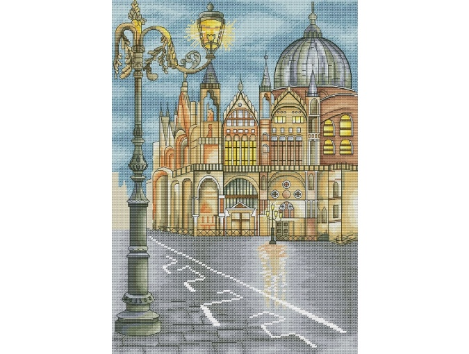 Venice Cross Stitch Chart фото 1