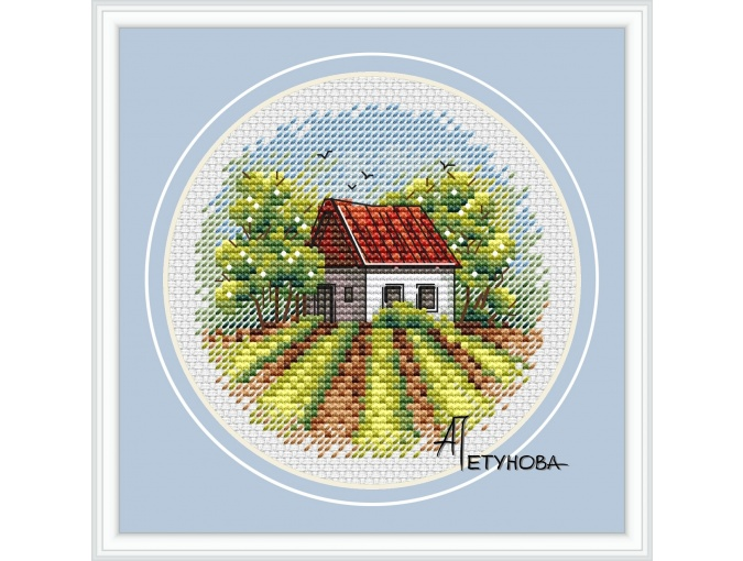 Country House Cross Stitch Pattern фото 1