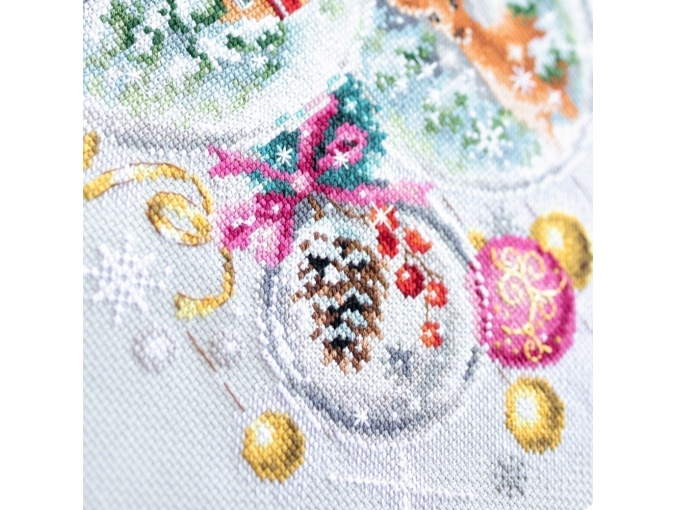 A Christmas Fairy Tail Cross Stitch Kit фото 6