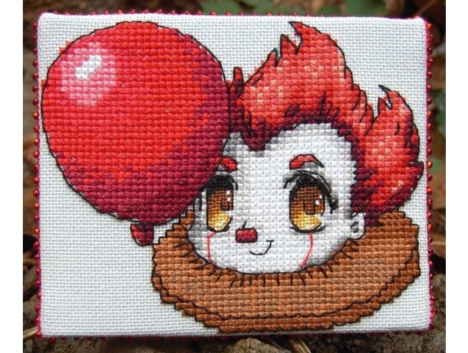 Pennywise Cross Stitch Pattern фото 2