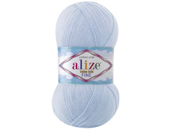Alize Cotton Gold Fine 55% cotton, 45% acrylic 5 Skein Value Pack, 500g фото 4
