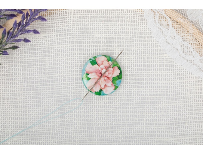 Magnetic Needle Minder №17 Watercolor Flower фото 3