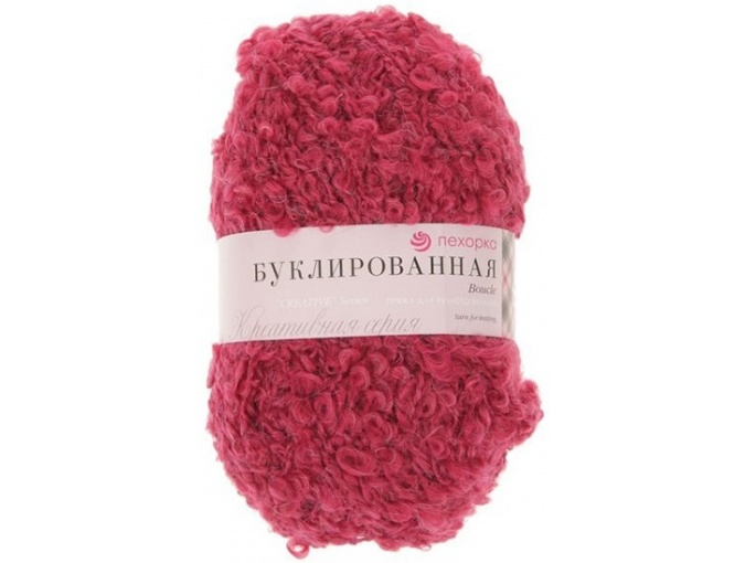 Pekhorka Boucle, 30% Mohair, 20% Wool, 50% Acrylic, 5 Skein Value Pack, 1000g фото 17