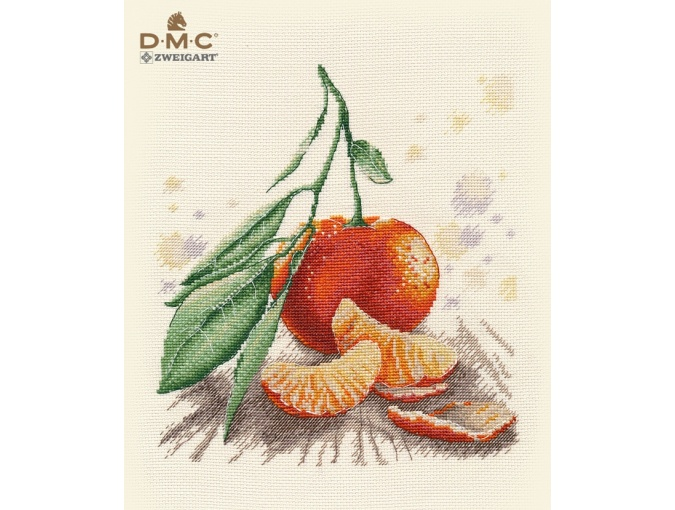 Tangerine Cross Stitch Kit  фото 1