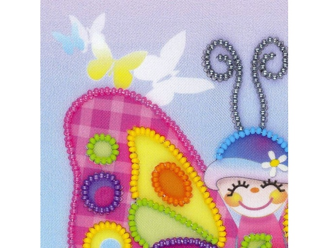 Fairy Butterfly Bead Embroidery Kit фото 2