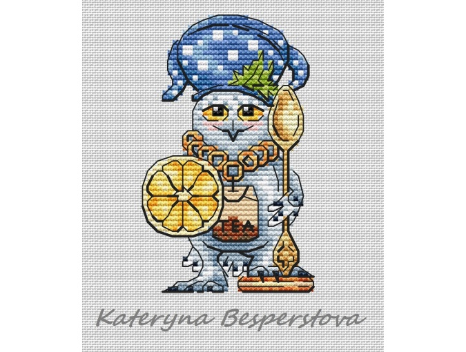 Knight of the Tea Order Cross Stitch Pattern фото 1