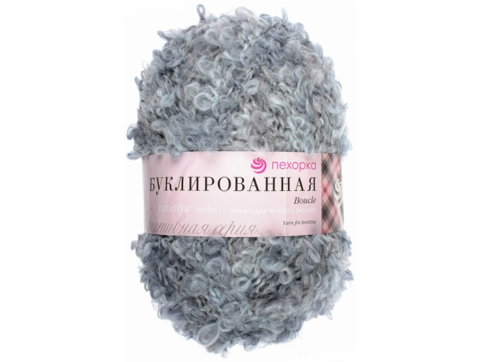 Pekhorka Boucle, 30% Mohair, 20% Wool, 50% Acrylic, 5 Skein Value Pack, 1000g фото 28