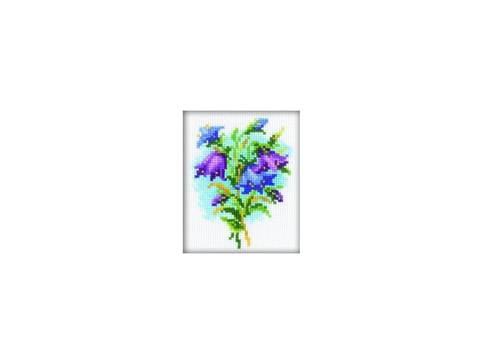 Bluebells Cross Stitch Kit фото 1