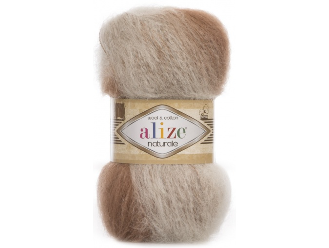 Alize Naturale, 60% Wool, 40% Cotton, 5 Skein Value Pack, 500g фото 36