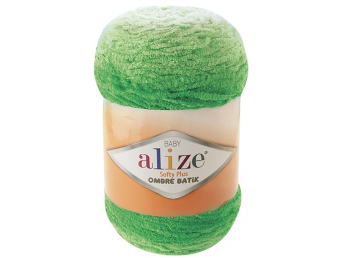 Alize Softy Plus Ombre Batik, 100% Micropolyester 1 Skein Value Pack, 500g фото 8
