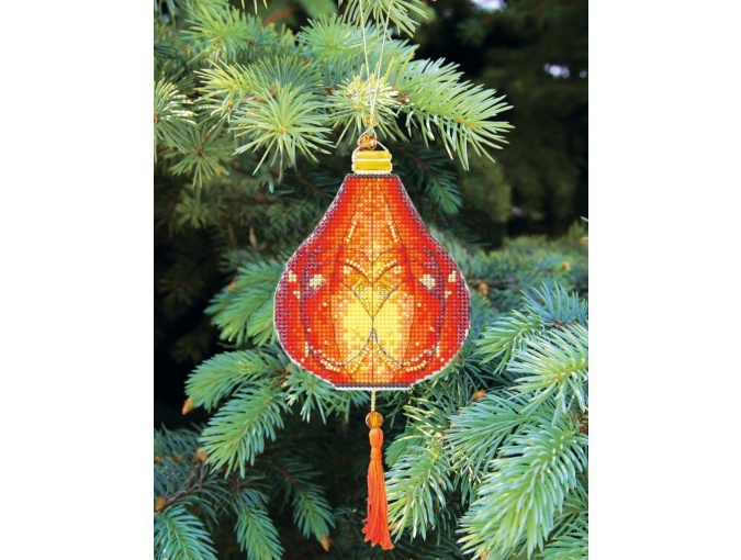 Colorful Lanterns Cross Stitch Kit фото 1