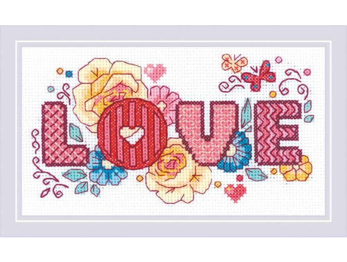 Love Cross Stitch Kit фото 1
