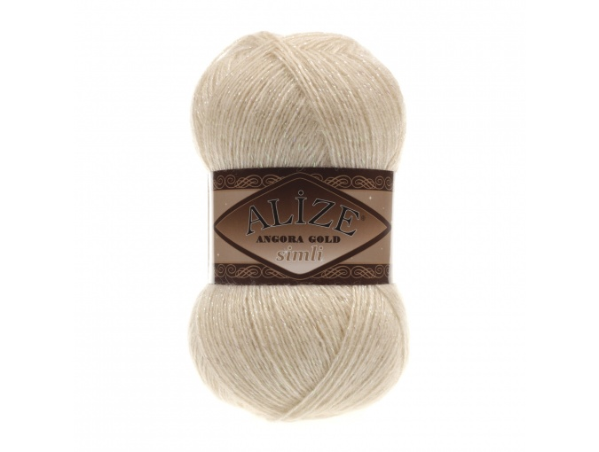 Alize Angora Gold Simli, 5% Lurex, 10% Mohair, 10% Wool, 75% Acrylic, 5 Skein Value Pack, 500g фото 16