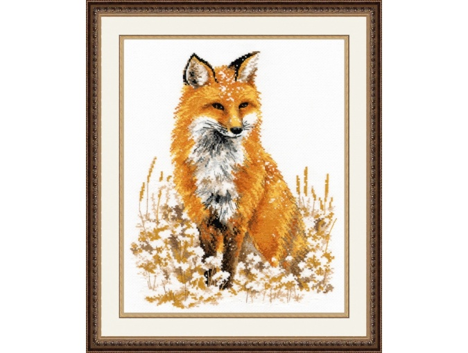 Red Fox Cross Stitch Kit фото 1