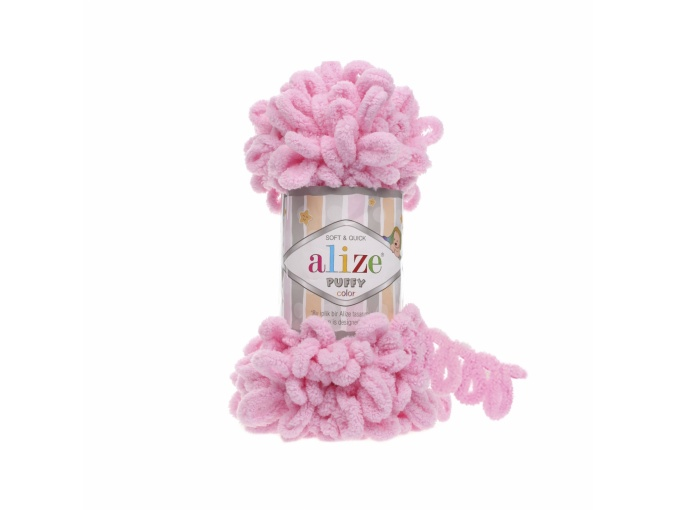 Alize Puffy, 100% Micropolyester 5 Skein Value Pack, 500g фото 28