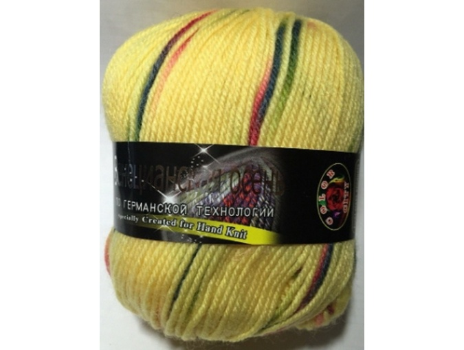 Color City Venetian Autumn 85% Merino Wool, 15% Acrylic, 5 Skein Value Pack, 500g фото 2
