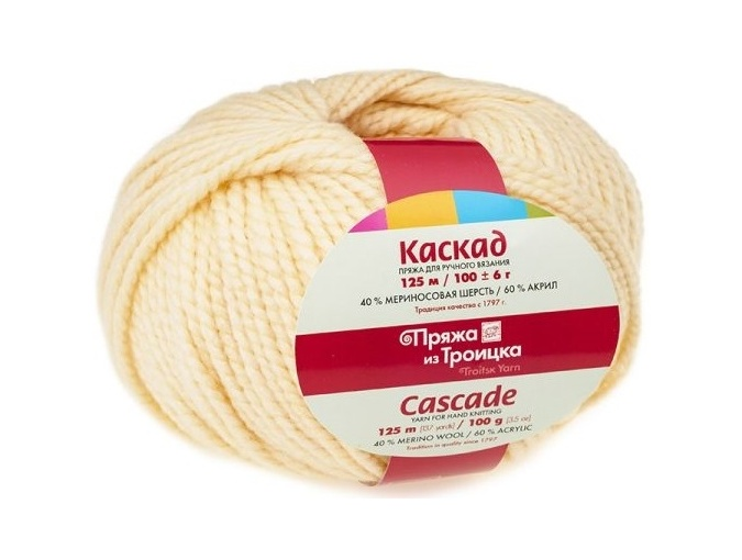 Troitsk Wool Cascade, 40% wool, 60% acrylic 10 Skein Value Pack, 1000g фото 20