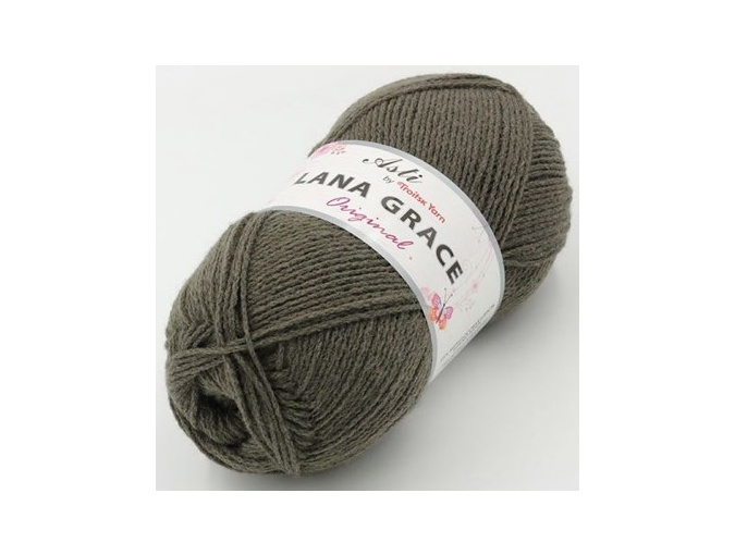 Troitsk Wool Lana Grace Original, 25% Merino wool, 75% Super soft acrylic 5 Skein Value Pack, 500g фото 3
