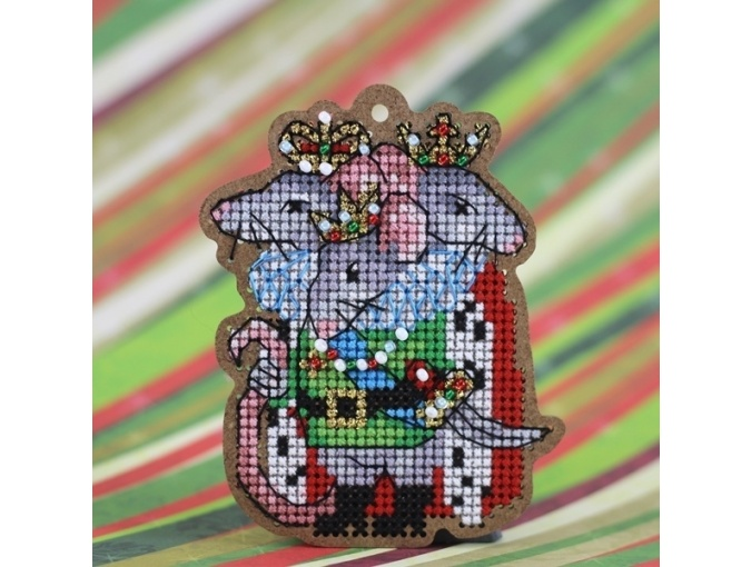 Rat King Original Toy Cross Stitch Kit фото 2