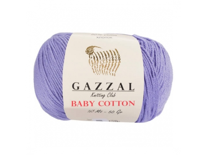 Gazzal Baby Cotton, 60% Cotton, 40% Acrylic 10 Skein Value Pack, 500g фото 22