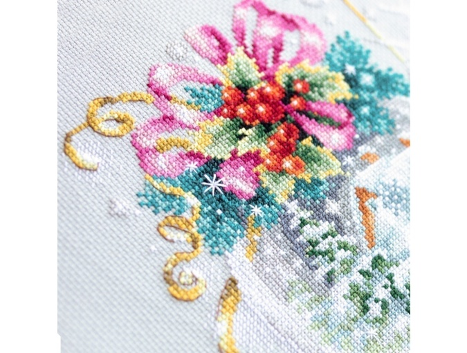 A Christmas Fairy Tail Cross Stitch Kit фото 7