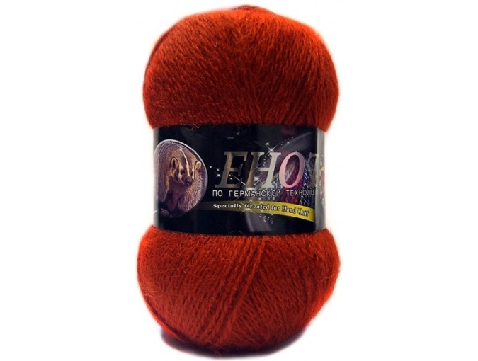 Color City Raccoon 60% Lambswool, 20% Raccoon Wool, 20% Acrylic, 10 Skein Value Pack, 1000g фото 26