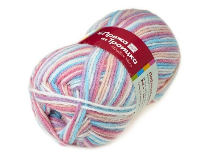 Troitsk Wool Countryside Print, 50% wool, 50% acrylic 10 Skein Value Pack, 1000g фото 16