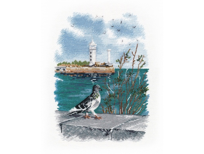 On the Embankment Cross Stitch Kit  фото 1