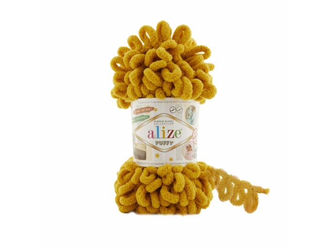 Alize Puffy, 100% Micropolyester 5 Skein Value Pack, 500g фото 2