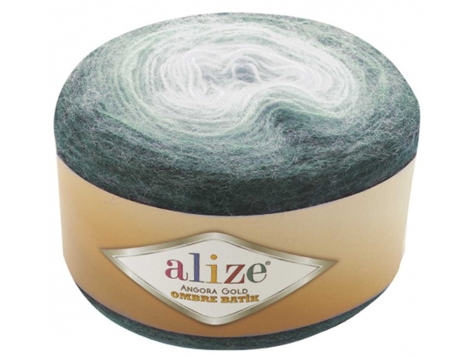 Alize Angora Gold Ombre Batik, 20% Wool, 80% Acrylic 4 Skein Value Pack, 600g фото 2