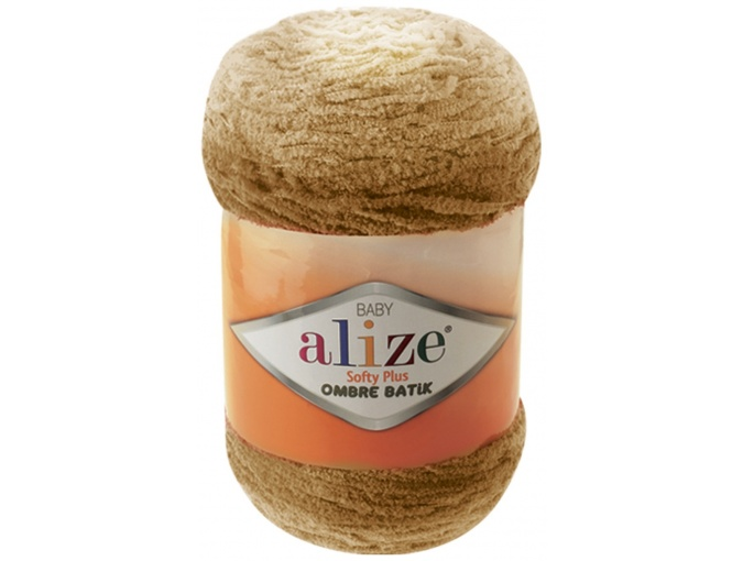Alize Softy Plus Ombre Batik, 100% Micropolyester 1 Skein Value Pack, 500g фото 10