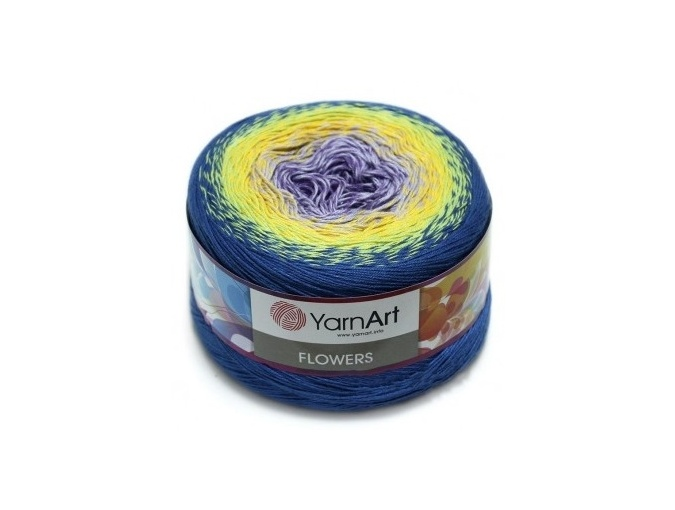YarnArt Flowers, 55% Cotton, 45% Acrylic, 2 Skein Value Pack, 500g фото 17