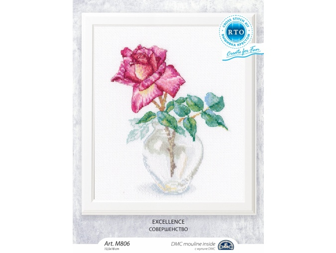 Excellence Cross Stitch Kit фото 2