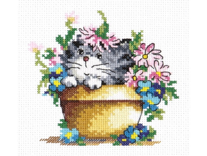 Flower Miracle Cross Stitch Kit фото 1
