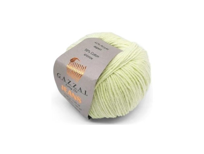 Gazzal Jeans, 58% Cotton, 42% Acrylic 10 Skein Value Pack, 500g фото 28