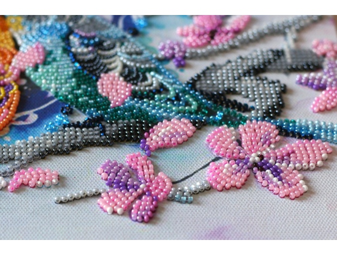 Inseparable Bead Embroidery Kit фото 6