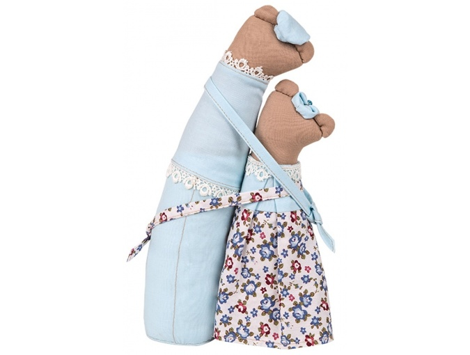 Bear Couple Toy Sewing Kit фото 2