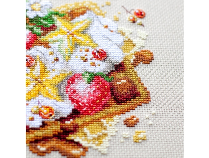 Viennese Waffles Cross Stitch Kit фото 8