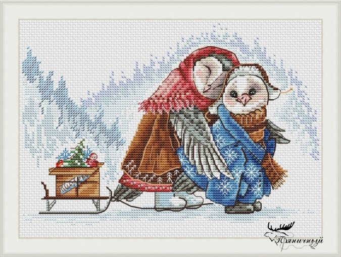Warming with Care Cross Stitch Pattern фото 1